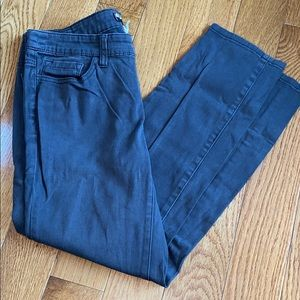 BDG Gray Cigarette Grazer Pants